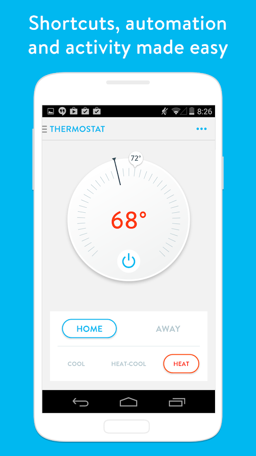 Wink Smart Home Screenshot