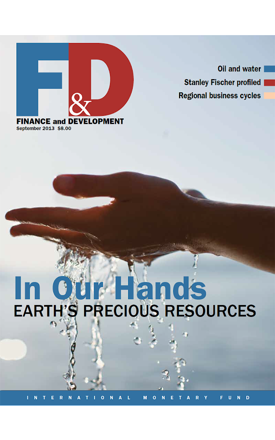 Finance & Development magazine - screenshot