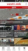 Screenshot of vesti.mk