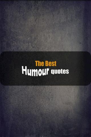 The best Humour quotes- screenshot