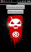 Screenshot of Droid X Recovery Bootstrap