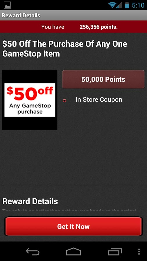 How to Generate Free GameStop Revenue, Method 2. Go into GameStop. Pick any game or item that is on sale. Purchase a percentage of the game with your rewards card and pay the rest in cash, just like the last scenario. The card is not required, but does help yield a larger profit.