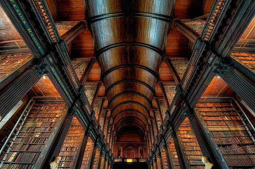 Trinity College Library, the library of Trinity College and the University of Dublin, is the largest library in Ireland.
