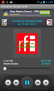 Journal en français facile - screenshot thumbnail