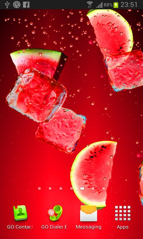 Juice PRO live wallpaper- screenshot