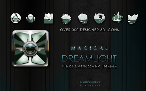 玩生活App|Next Launcher Theme Dreamlight免費|APP試玩