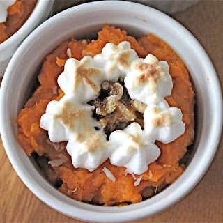 Coconut Spiced Sweet Potato Casserole.