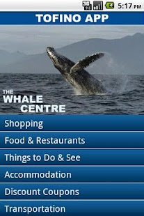 The Tofino App - screenshot thumbnail