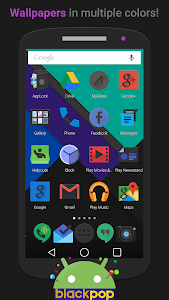 BlackPOP - Icon Pack v2.1