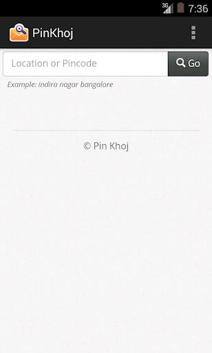 Pincode Finder India PinKhoj