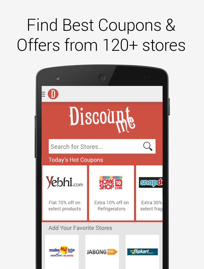 Discount Me Coupons, Offers- screenshot