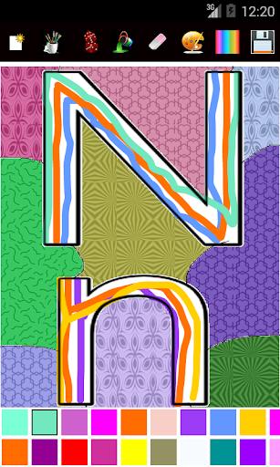 Paint Color Patterns ABC