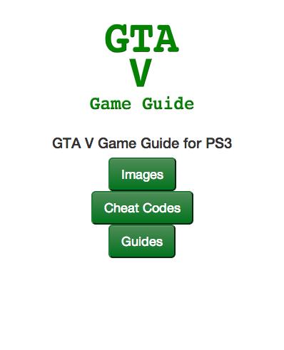 GTA V Quick Reference Info
