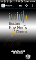 Screenshot of Boston Gay Men's Chorus