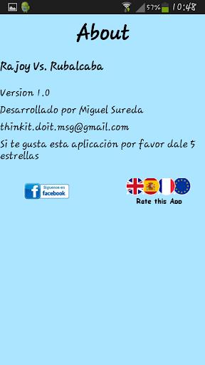 玩休閒App|Rajoy Vs. Rubalcaba免費|APP試玩