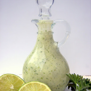 Cilantro-Lime Vinaigrette + Grilled Fish Tacos