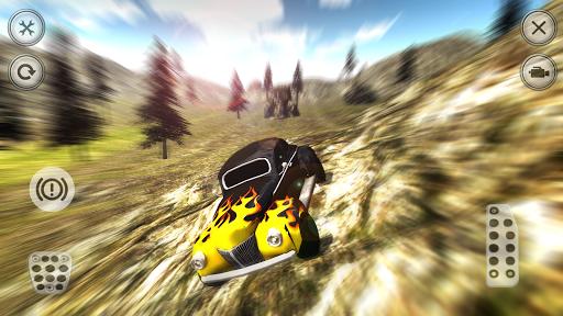 Retro Car Crash