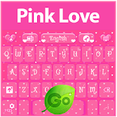 Pink Love GO Keyboard