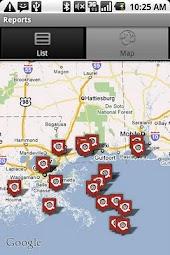 Oil Spill Tracker