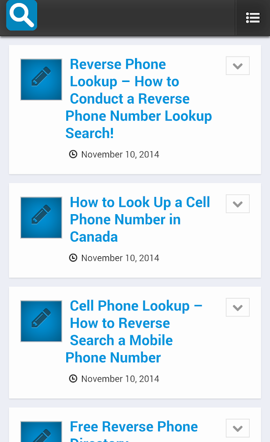 Reverse Phone Lookup - Android Apps on Google Play