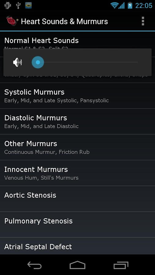 Heart Sounds & Murmurs - screenshot