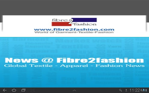 Fibre2Fashion News - screenshot thumbnail