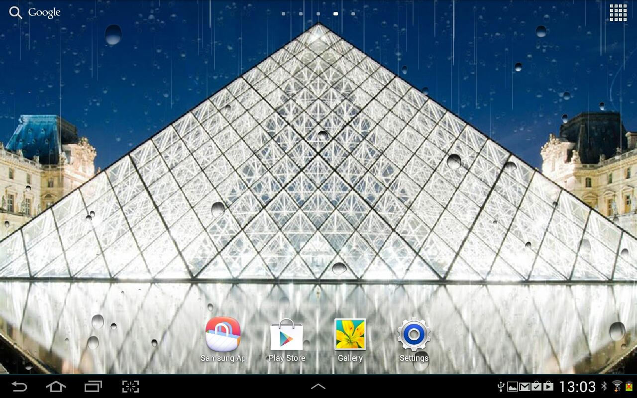 Rainy Paris Live Wallpaper - Android Apps on Google Play