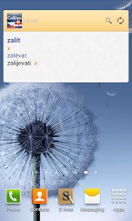Czech<>Croatian Dictionary T - screenshot thumbnail