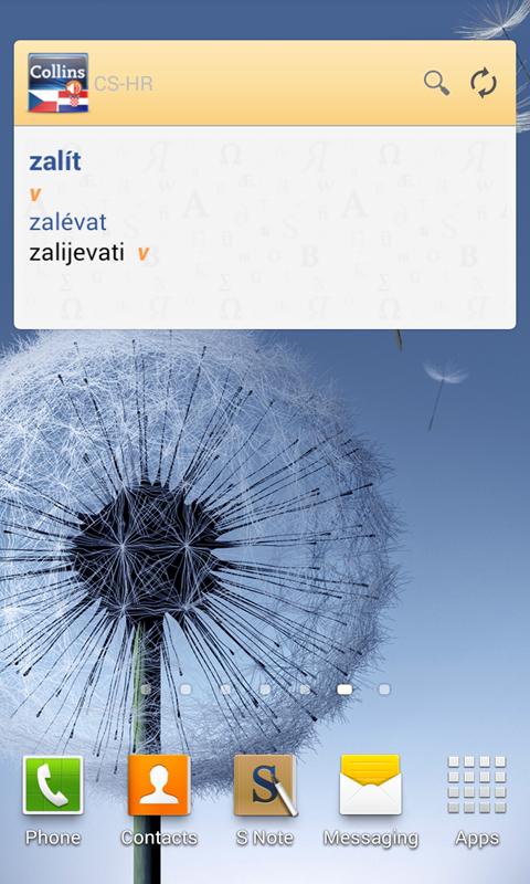 Czech<>Croatian Dictionary T - screenshot
