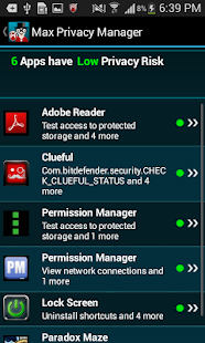 Max Privacy Manager- screenshot thumbnail