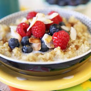 Coconut-Almond Breakfast Quinoa.