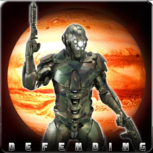 Jupiter Defending