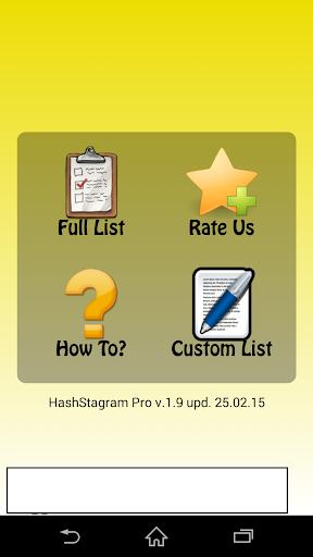 Hash Stagram Pro