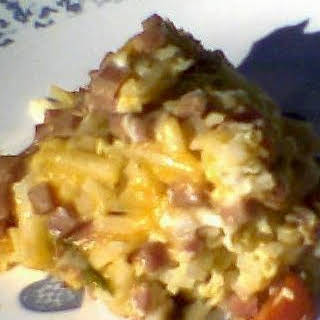 Holiday Crock Pot Breakfast Casserole.