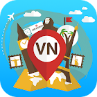 Vietnam travel guide offline icon