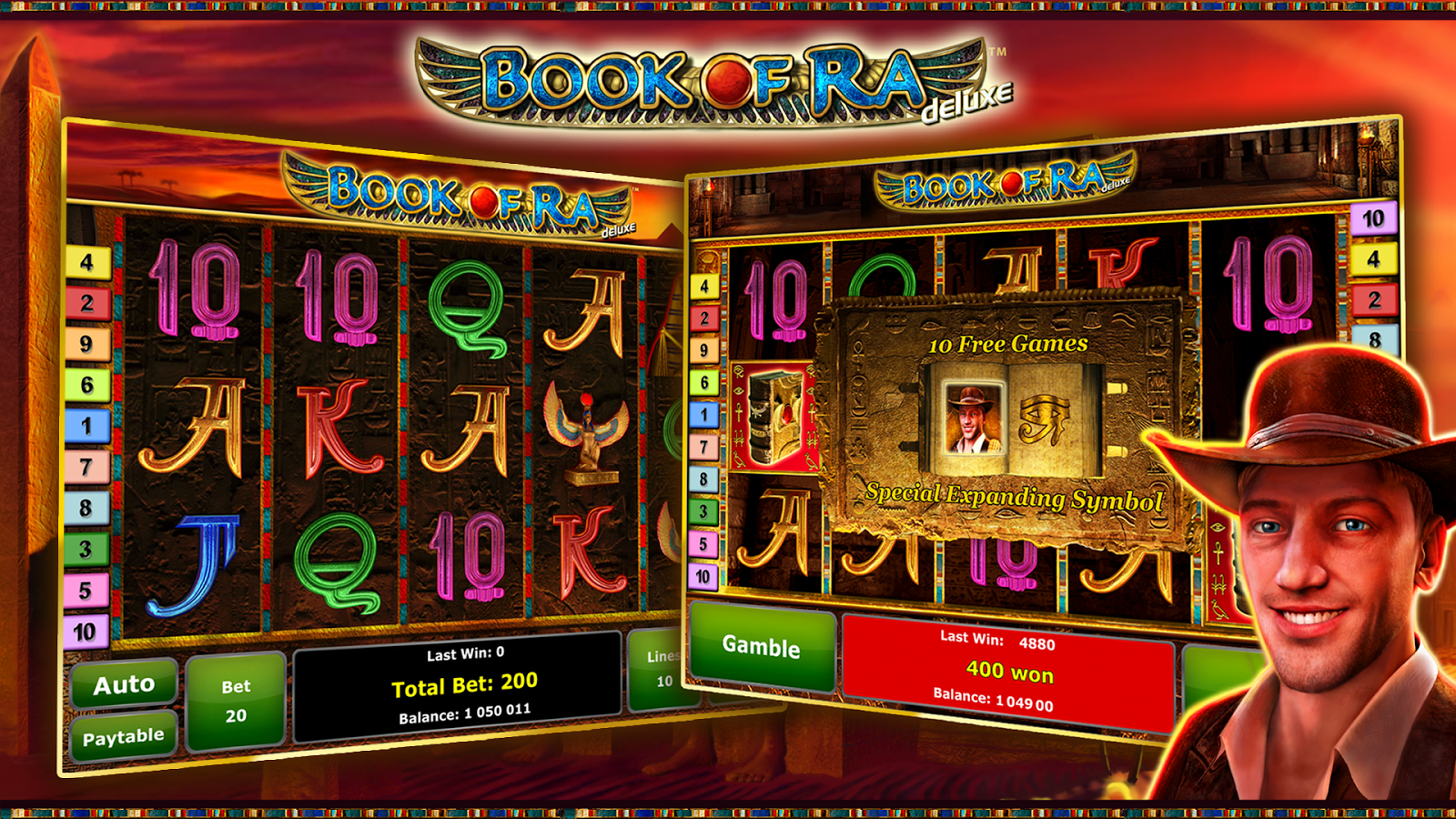 casino online games slots book of ra free download
