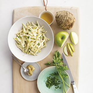 Celery Root and Apple Slaw.