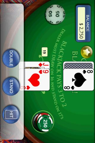 Casino BlackJack!- screenshot