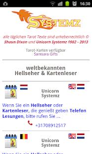 tägliche tarot Karte - screenshot thumbnail