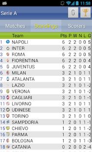 Italian Soccer 2016/2017 Screenshot 26