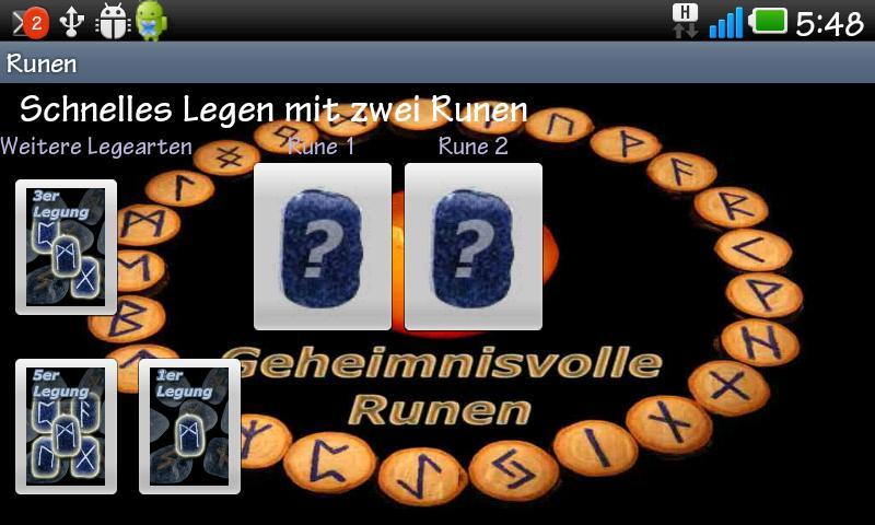 Runen- screenshot