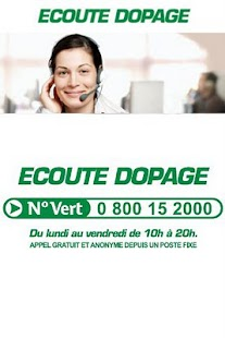 ECOUTE DOPAGE - screenshot thumbnail