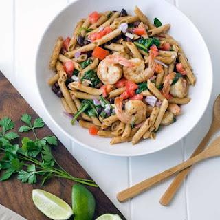 Gluten Free Chili Lime Shrimp Pasta Salad