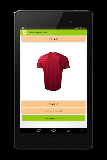 Football 2014 Jersey Maker