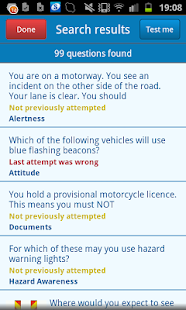 UK Motorcycle Theory Test- screenshot thumbnail