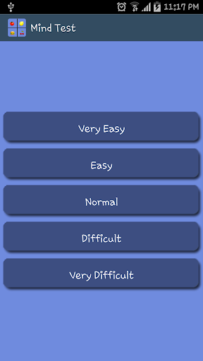 Mind Test Game