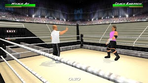 12 Wrestling Revolution 3D App screenshot