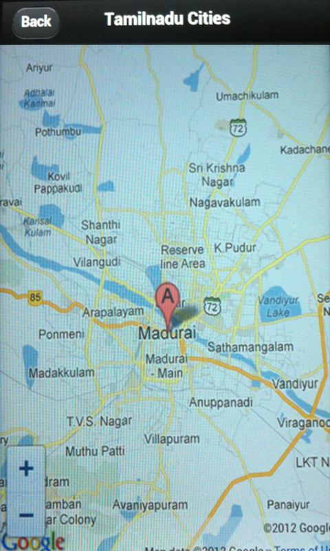 Tamilnadu Cities- screenshot