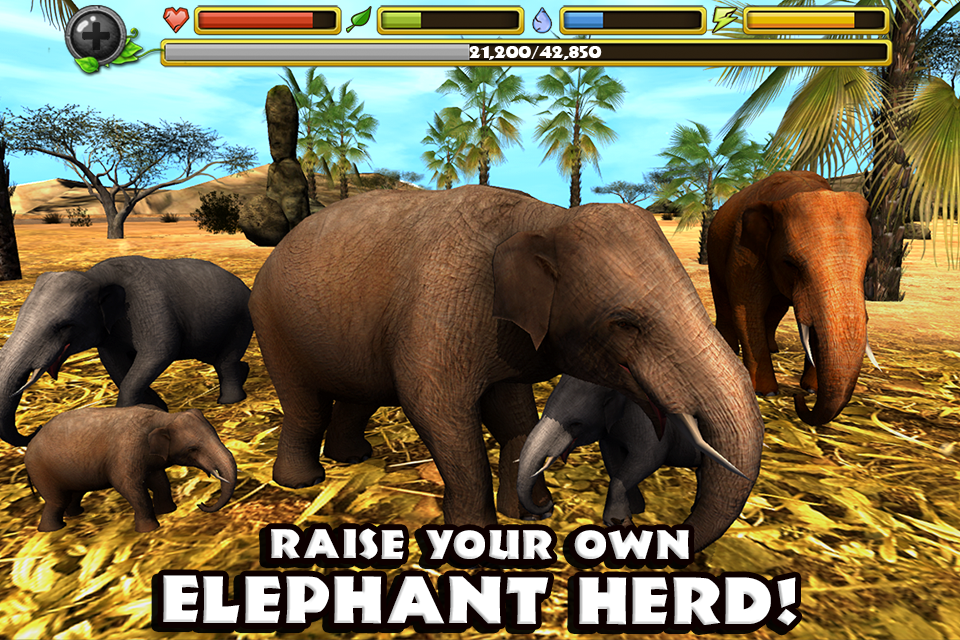 Elephant Simulator- screenshot