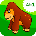 Animal ABC games for kids 1 icon